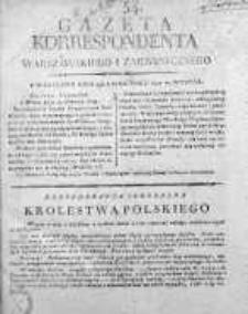 Korespondent Warszawski Donoszący Wiadomości Krajowe i Zagraniczne 1812, Nr 54/2