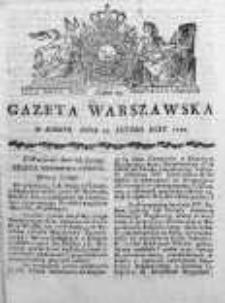 Gazeta Warszawska 1790, Nr 13