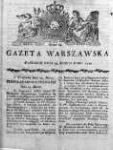 Gazeta Warszawska 1790, Nr 24