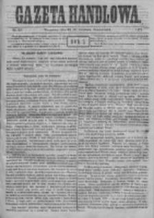 Gazeta Handlowa. Pismo poświęcone handlowi, przemysłowi fabrycznemu i rolniczemu, 1871, Nr 90