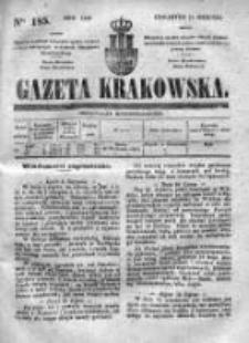 Gazeta Krakowska 1840, III, Nr 185