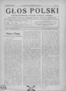 Głos Polski. Tygodnik ilustrowany polityczny, społeczny i literacki 1915, Nr 35