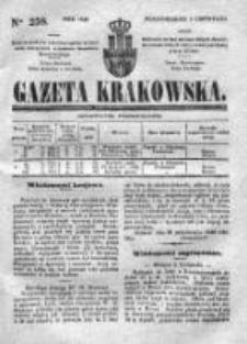 Gazeta Krakowska 1840, IV, Nr 258