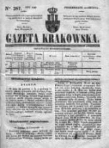 Gazeta Krakowska 1840, IV, Nr 287