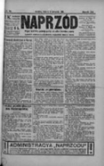Naprzód. Czasopismo polityczne i społeczne. - Organ partyi socyal-demokratycznej 1912, R. XXI, Nr 079