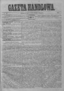 Gazeta Handlowa. Pismo poświęcone handlowi, przemysłowi fabrycznemu i rolniczemu, 1872, Nr 91