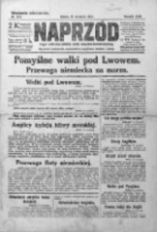 Naprzód. Czasopismo polityczne i społeczne. - Organ partyi socyal-demokratycznej 1914, R. XXIII, Nr 244