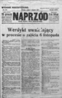 Naprzód. Czasopismo polityczne i społeczne. - Organ partyi socyal-demokratycznej 1924, R. XXXIII, Nr 173
