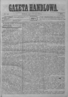 Gazeta Handlowa. Pismo poświęcone handlowi, przemysłowi fabrycznemu i rolniczemu, 1872, Nr 153