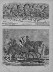 Kłosy 1876, T. XXII, Nr 574