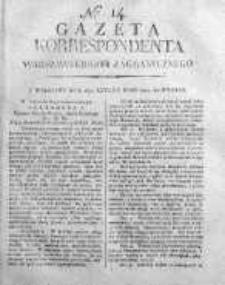 Gazeta Korrespondenta Warszawskiego i Zagranicznego 1819 I, Nr 14