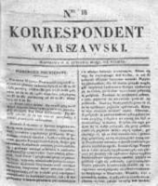 Korespondent Warszawski, 1832, I, Nr 16