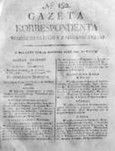 Gazeta Korrespondenta Warszawskiego i Zagranicznego 1820 IV, Nr 152