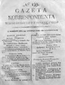 Gazeta Korrespondenta Warszawskiego i Zagranicznego 1820 IV, Nr 159