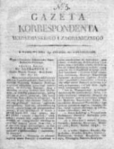 Gazeta Korrespondenta Warszawskiego i Zagranicznego 1821, Nr 5