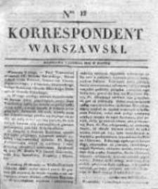 Korespondent Warszawski, 1832, I, Nr 32