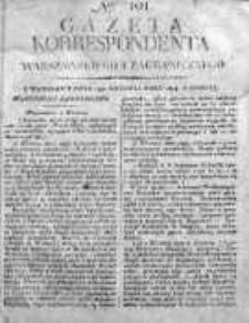 Korespondent Warszawski Donoszący Wiadomości Krajowe i Zagraniczne 1814, Nr 101