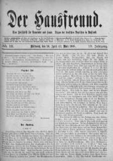 Der Hausfreund 30 kwiecień 1908 nr 18