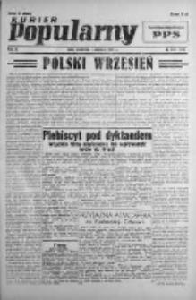 Kurier Popularny. Organ Polskiej Partii Socjalistycznej 1946, III, Nr 240