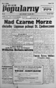 Kurier Popularny. Organ Polskiej Partii Socjalistycznej 1946, III, Nr 254