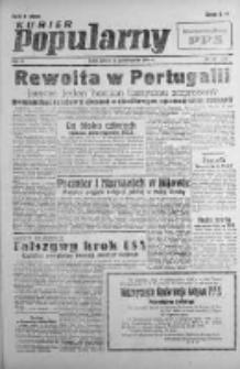 Kurier Popularny. Organ Polskiej Partii Socjalistycznej 1946, IV, Nr 281