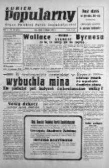 Kurier Popularny. Organ Polskiej Partii Socjalistycznej 1946, IV, Nr 302