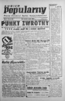 Kurier Popularny. Organ Polskiej Partii Socjalistycznej 1946, IV, Nr 335