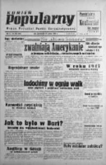 Kurier Popularny. Organ Polskiej Partii Socjalistycznej 1946, IV, Nr 358