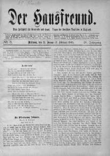 Der Hausfreund 21 styczeń 1909 nr 3