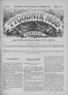 Tygodnik Mód i Powieści. Pismo ilustrowane dla kobiet. 1884, No 40