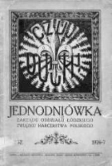 Czuj duch! : jednodniówka Zarządu Oddziału Łódzkiego Związku Harcerstwa Polskiego