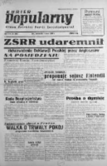 Kurier Popularny. Organ Polskiej Partii Socjalistycznej 1948, I, Nr 60