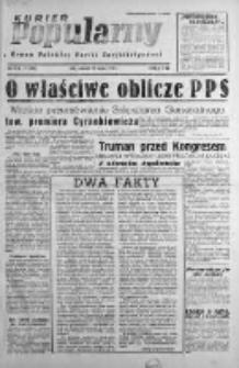 Kurier Popularny. Organ Polskiej Partii Socjalistycznej 1948, I, Nr 77