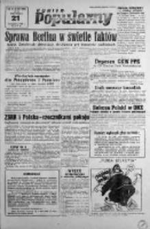 Kurier Popularny. Organ Polskiej Partii Socjalistycznej 1948, IV, Nr 321