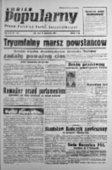 Kurier Popularny. Organ Polskiej Partii Socjalistycznej 1947, IV, Nr 295