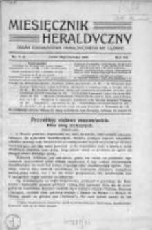 Miesięcznik Heraldyczny. 1914. Nr 5-6