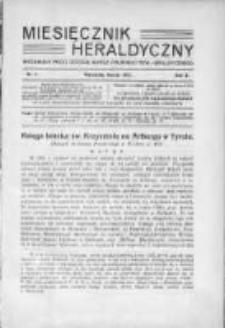 Miesięcznik Heraldyczny. 1931. Nr 3