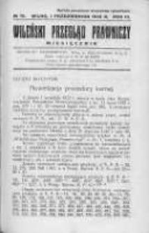 Wileński Przegląd Prawniczy. 1932. Nr 10