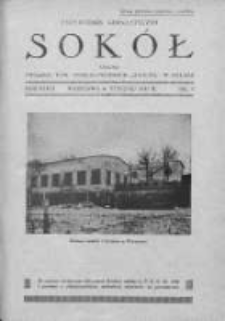 Przewodnik Gimnastyczny Sokół. 1931. Nr 1