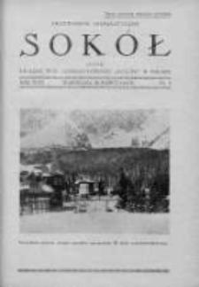 Przewodnik Gimnastyczny Sokół. 1932. Nr 3