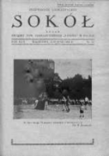 Przewodnik Gimnastyczny Sokół. 1932. Nr 11