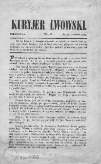 Kuryjer Lwowski czyli Nowiny. 1848. Nr 2