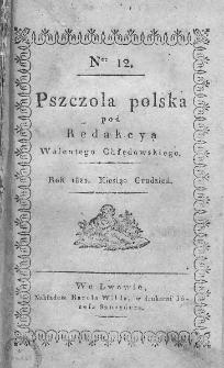 Pszczoła Polska. 1820. T. III, nr 12