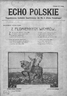 """Echo Polskie : tygodniowy dodatek ilustrowany do nr 3 """"Echa Polskiego"""". 1917."""