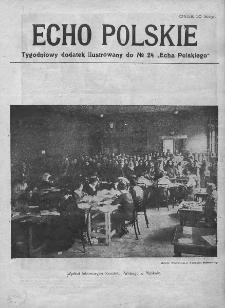 """Echo Polskie : tygodniowy dodatek ilustrowany do nr 24 """"Echa Polskiego"""". 1917."""