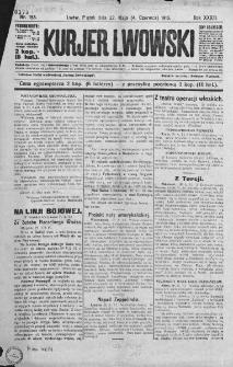 Kurjer Lwowski. 1915. Rok XXXIII. Nr 153