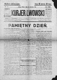 Kurjer Lwowski. 1915. Rok XXXIII. Nr 172