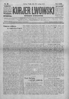 Kurjer Lwowski. 1918. Rok XXXVI. Nr 96