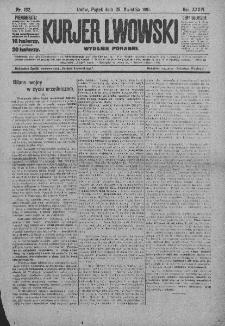 Kurjer Lwowski. 1918. Rok XXXVI. Nr 192