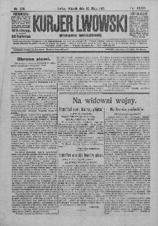 Kurjer Lwowski. 1918. Rok XXXVI. Nr 220